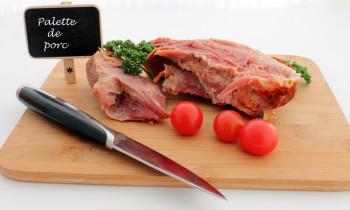 Palette de porc entière a/os